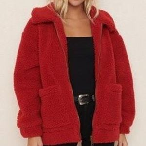 Garage teddy coat